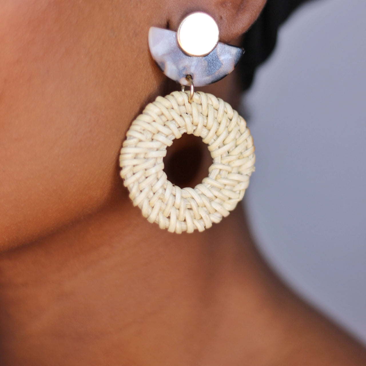 Buy beautiful Bask In It Woven Drop Earrings - AWKN Jewelry's