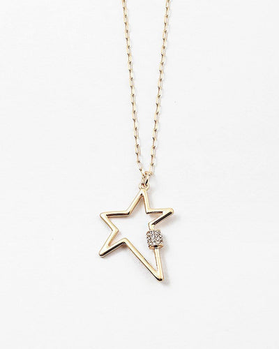 Buy beautiful Star Pendant Gold Chain Necklace - AWKN Jewelry's