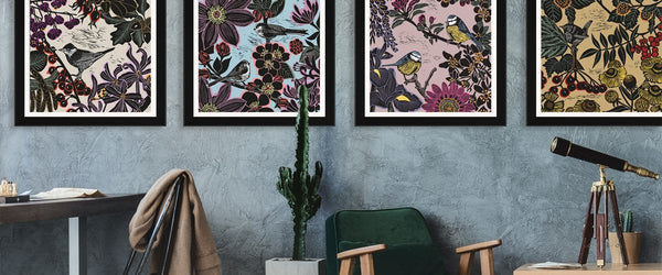 Kate heiss: energetic florals and nature inspired prints