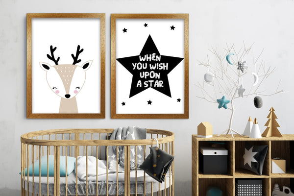 Christmas art prints for kids