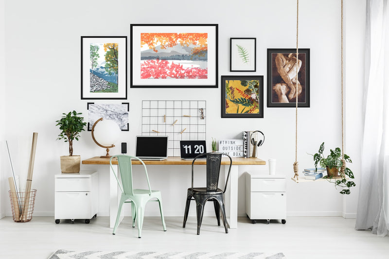 Art prints for offices and workspaces
