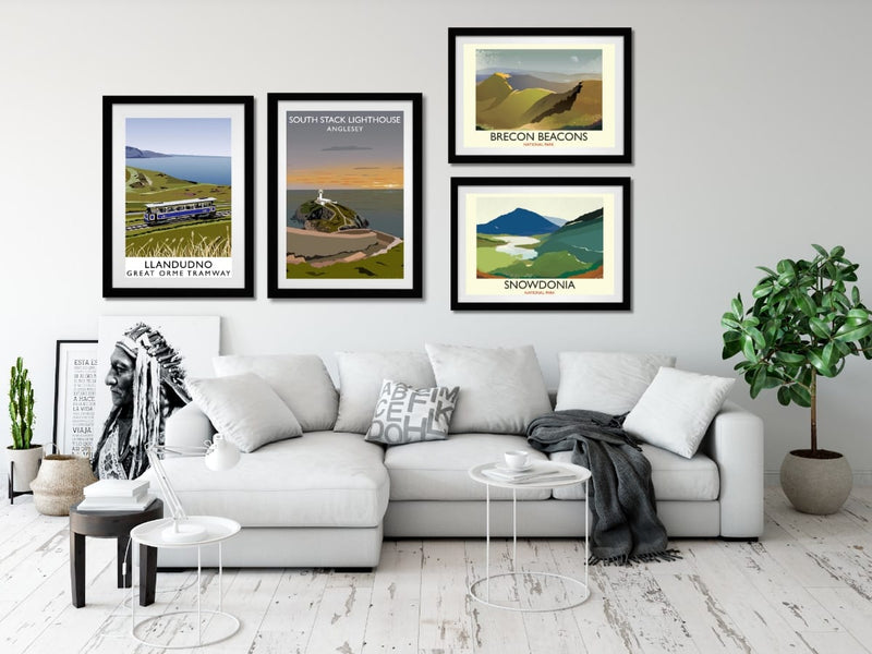 Welsh art prints
