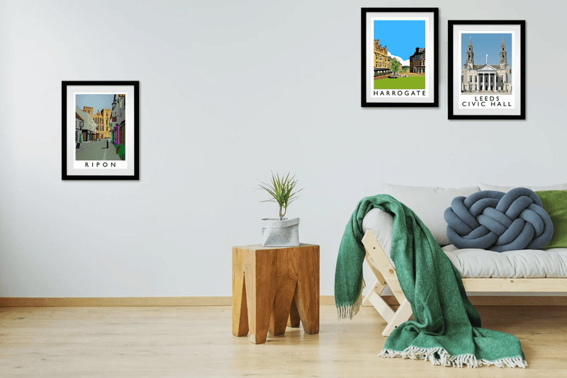 Prints of yorkshire towns & cities