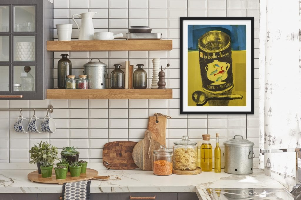 Art prints for kitchens