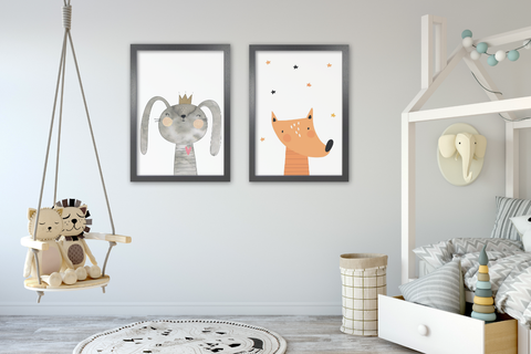 Animal Prints for Kids Rooms