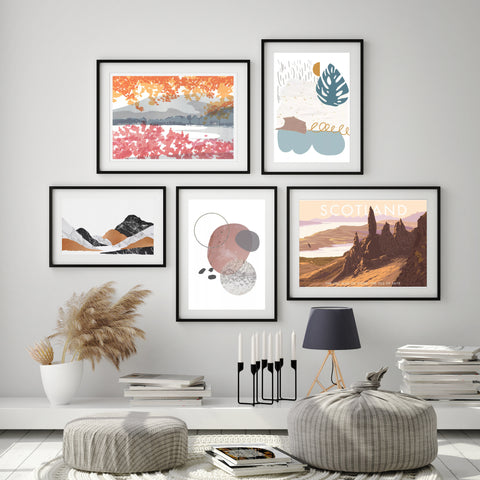Wall Art Prints & Posters - a selection of art available to buy