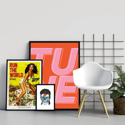 Music and Film Posters in range of sizes