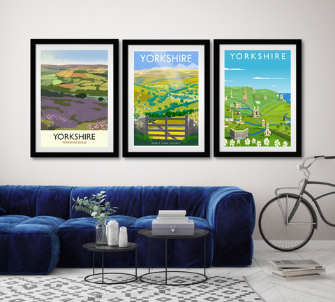 Yorkshire dales art prints