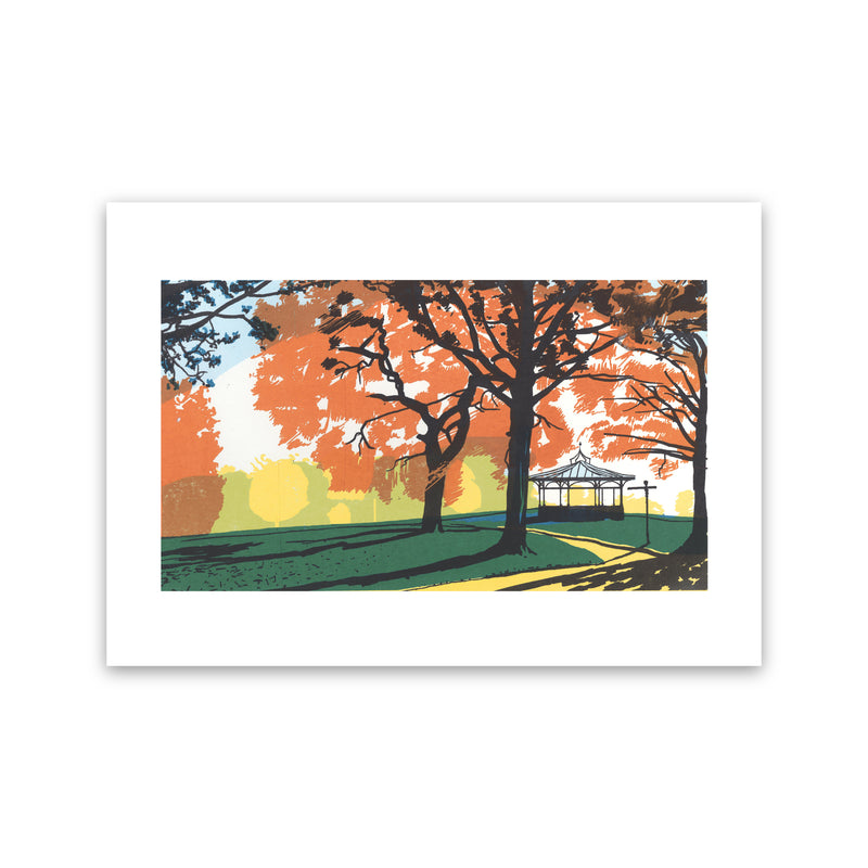 Roundhay Park, Leeds, West Yorkshire, Landscape Art Print By James Bywood