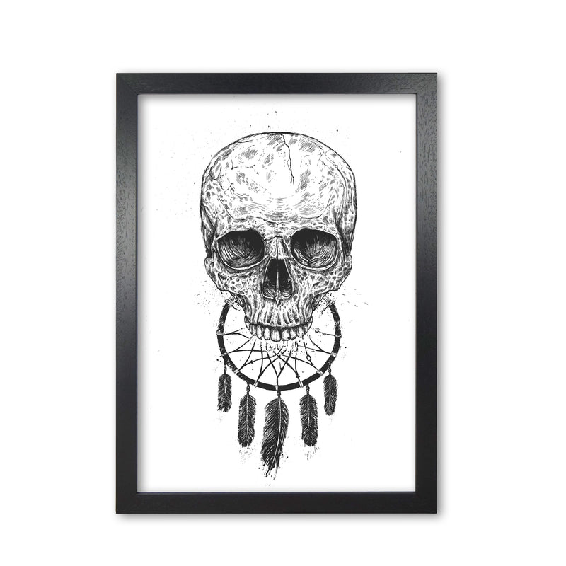 Dream Forever Gothic Art Print by Balaz Solti