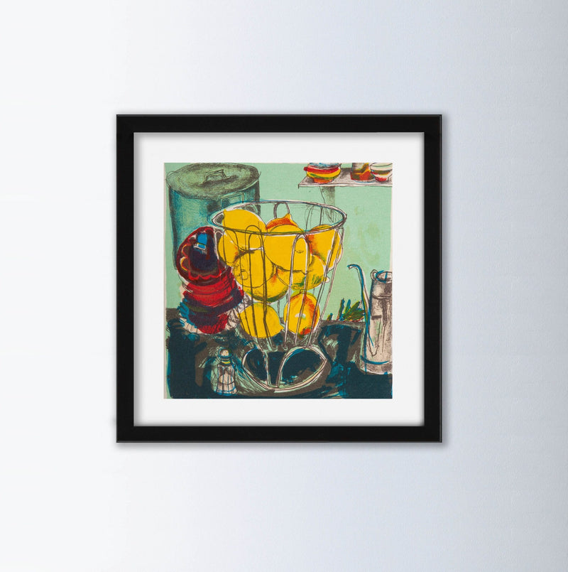 Lemons Fine Art Print By Chloe Cheese