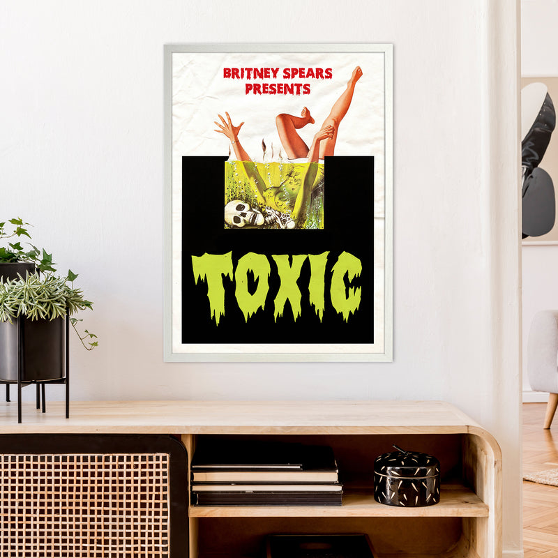 Toxic by David Redon A1 White Frame