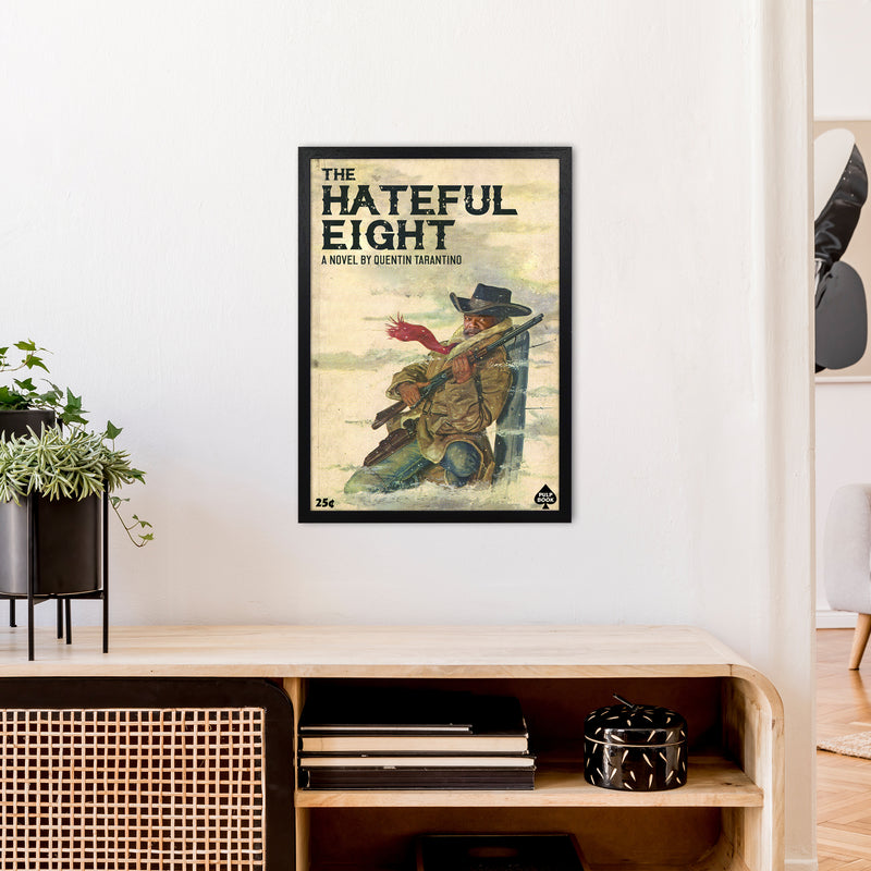 Hateful Eight by David Redon A2 Black Frame