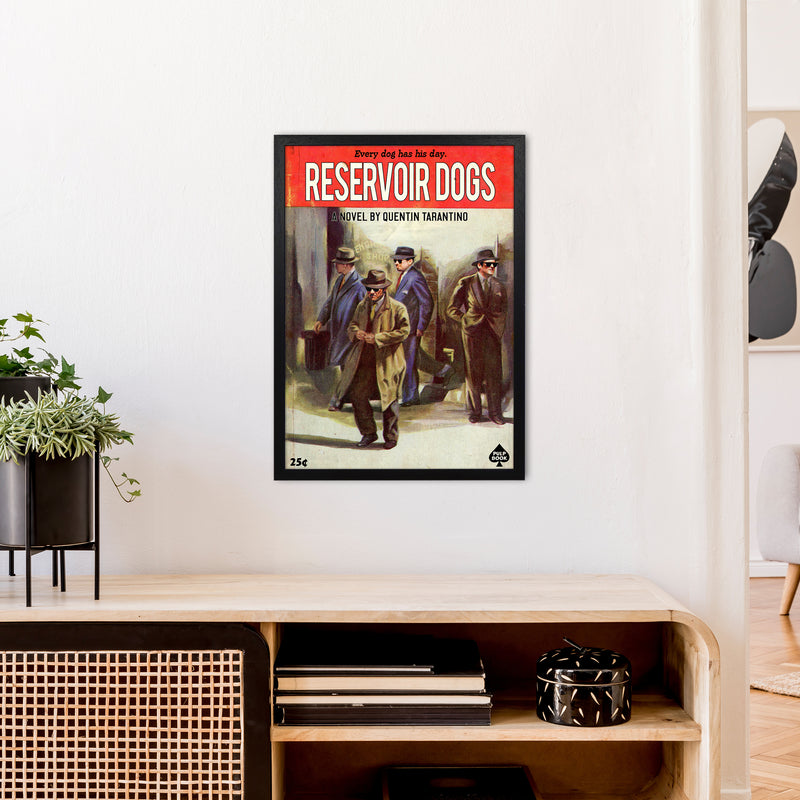 Reservoir Dogs by David Redon A2 Black Frame