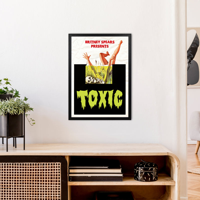 Toxic by David Redon A2 Black Frame