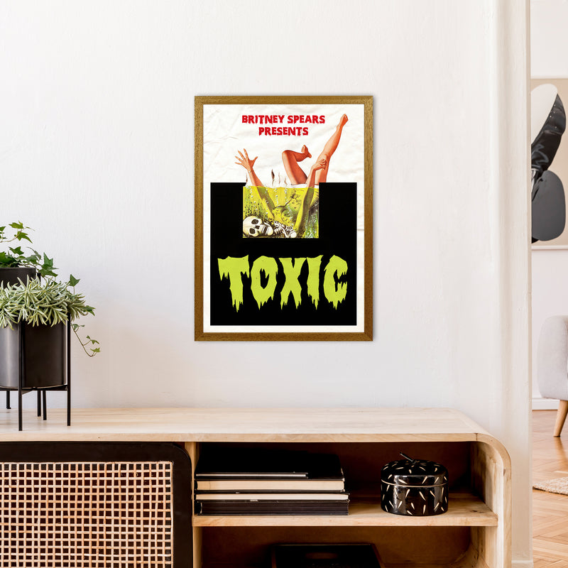 Toxic by David Redon A2 Oak Frame