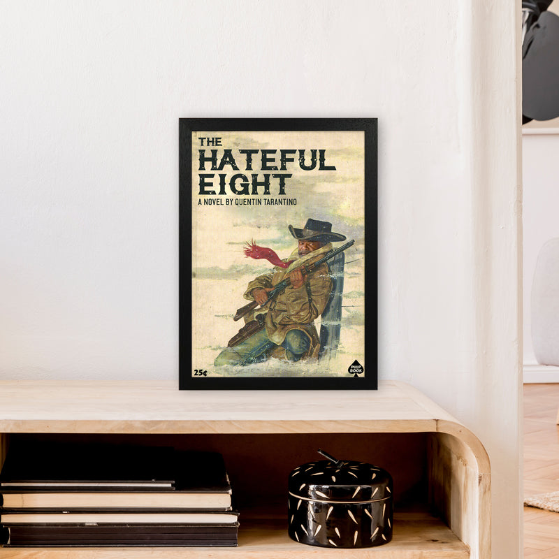 Hateful Eight by David Redon A3 Black Frame