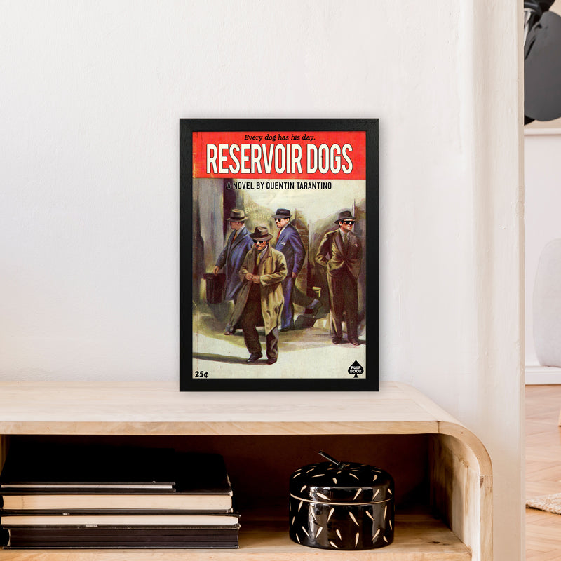 Reservoir Dogs by David Redon A3 Black Frame