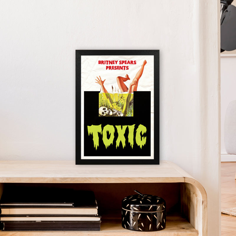 Toxic by David Redon A3 Black Frame