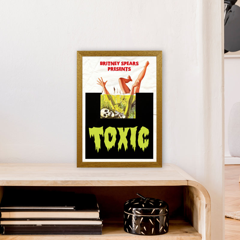 Toxic by David Redon A3 Oak Frame