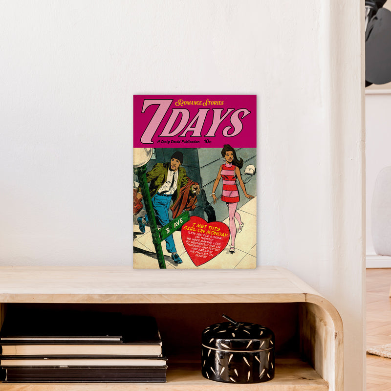 7 Days by David Redon A3 Print Only