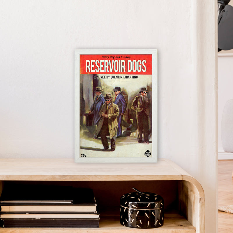 Reservoir Dogs by David Redon A3 White Frame