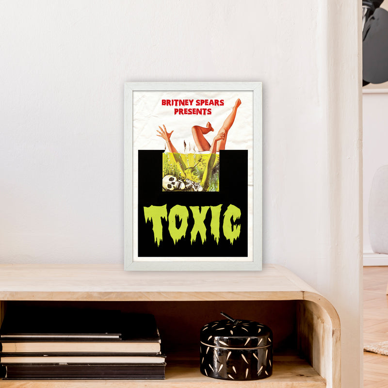 Toxic by David Redon A3 White Frame
