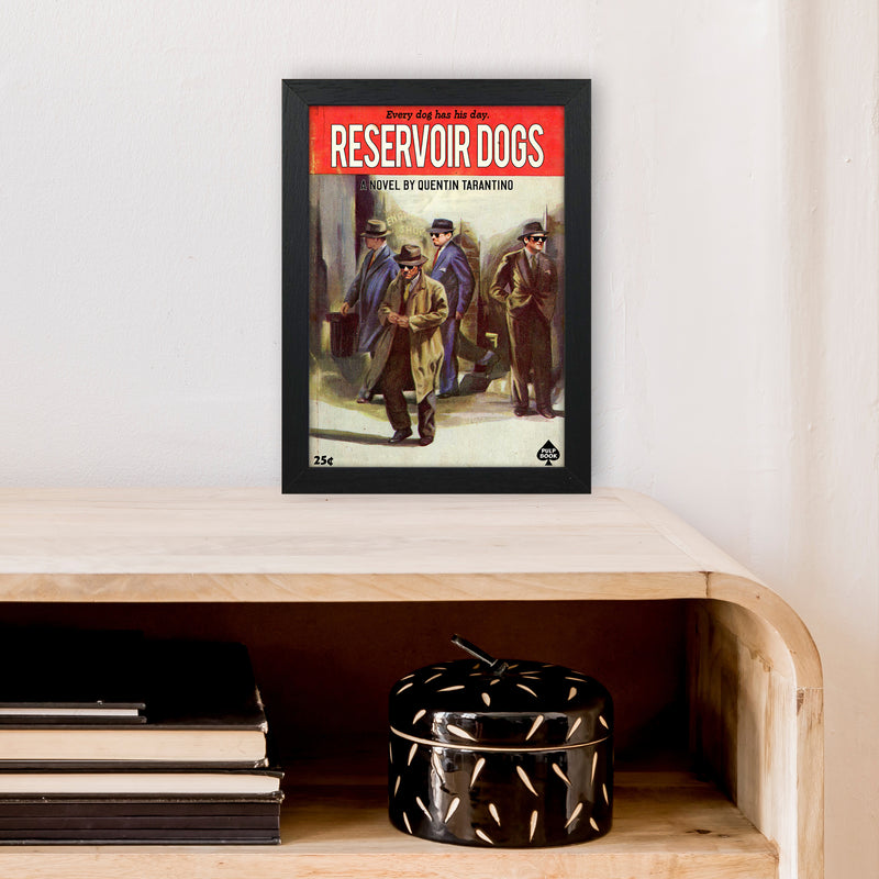 Reservoir Dogs by David Redon A4 Black Frame