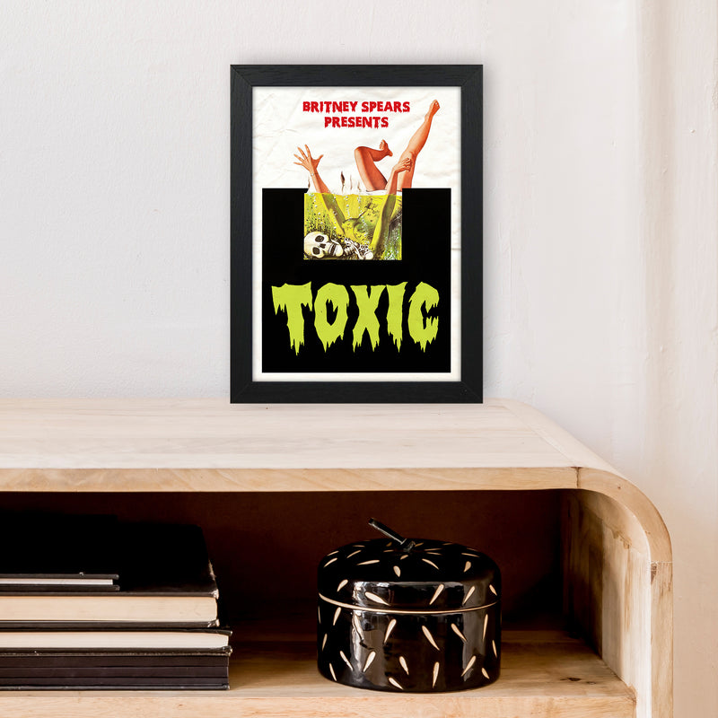 Toxic by David Redon A4 Black Frame