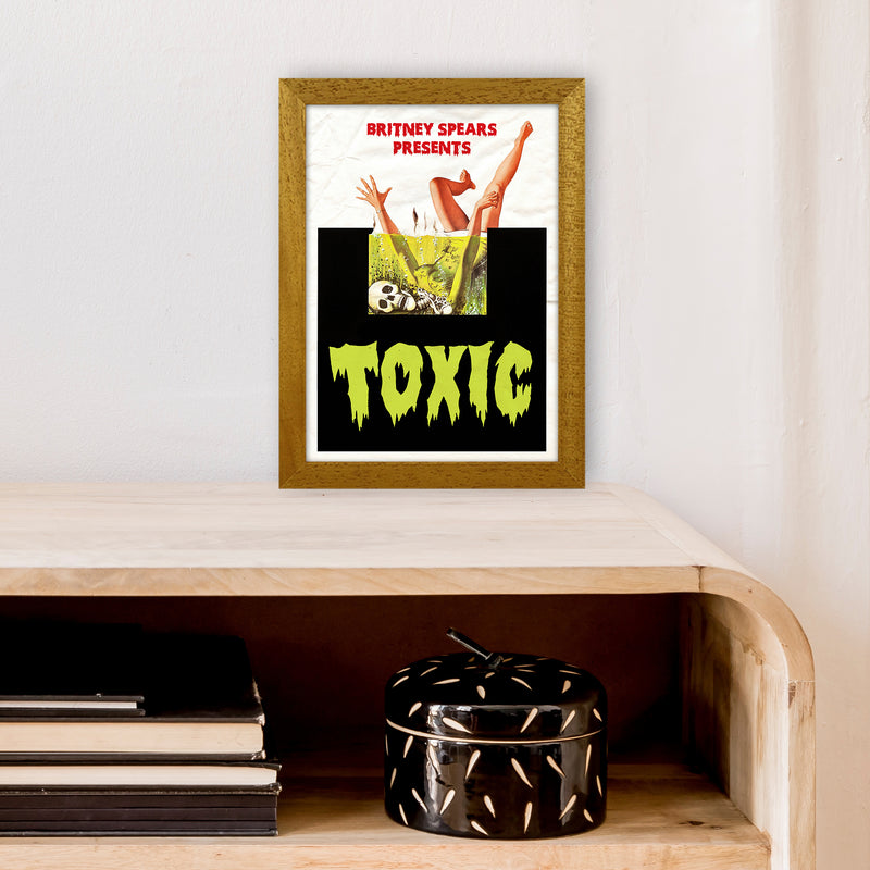 Toxic by David Redon A4 Oak Frame