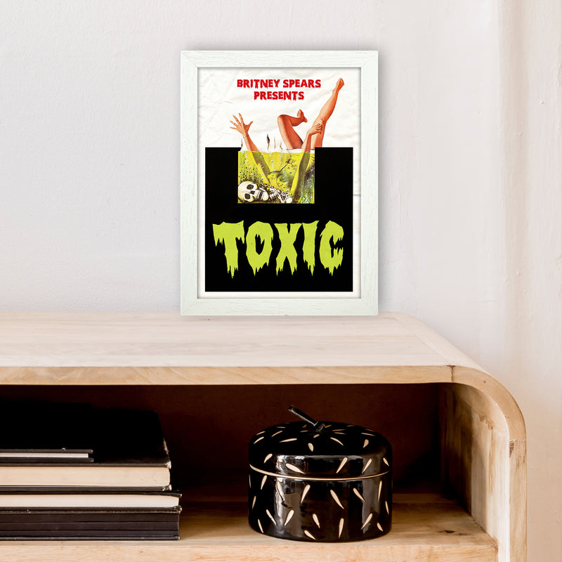Toxic by David Redon A4 White Frame