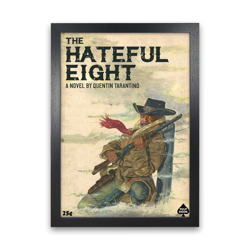Hateful Eight by David Redon Black Frame