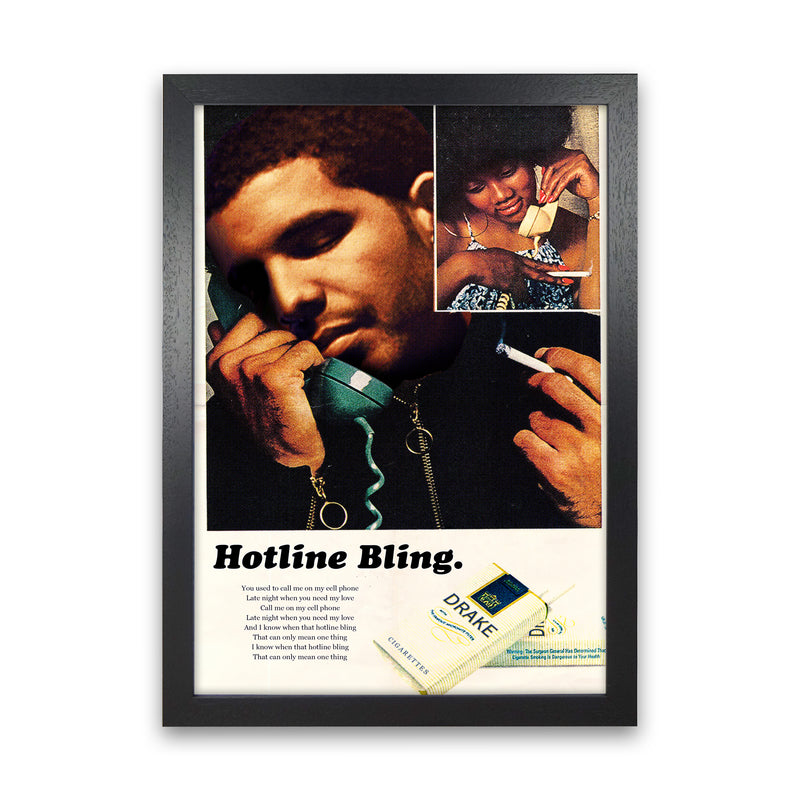 Drizzy by David Redon Black Frame