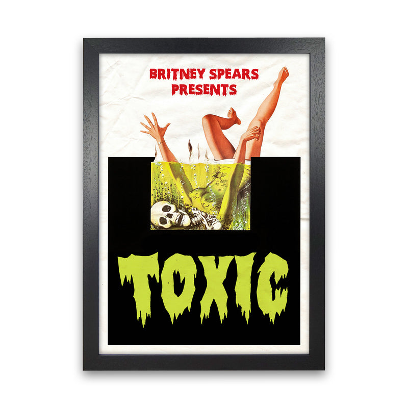 Toxic by David Redon Black Frame
