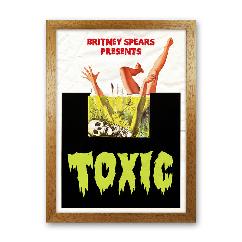 Toxic by David Redon Oak Frame