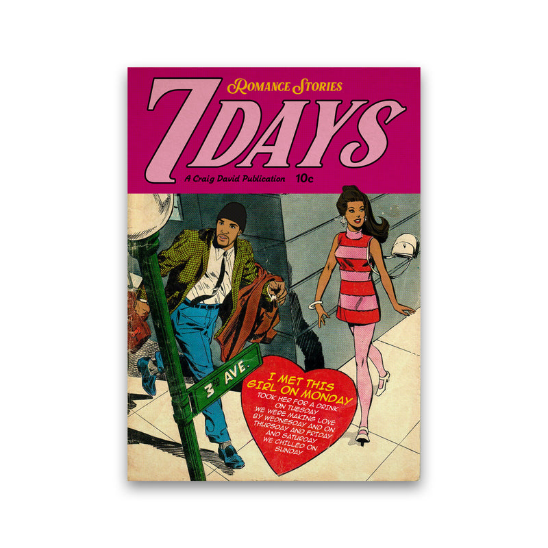 7 Days by David Redon Print Only