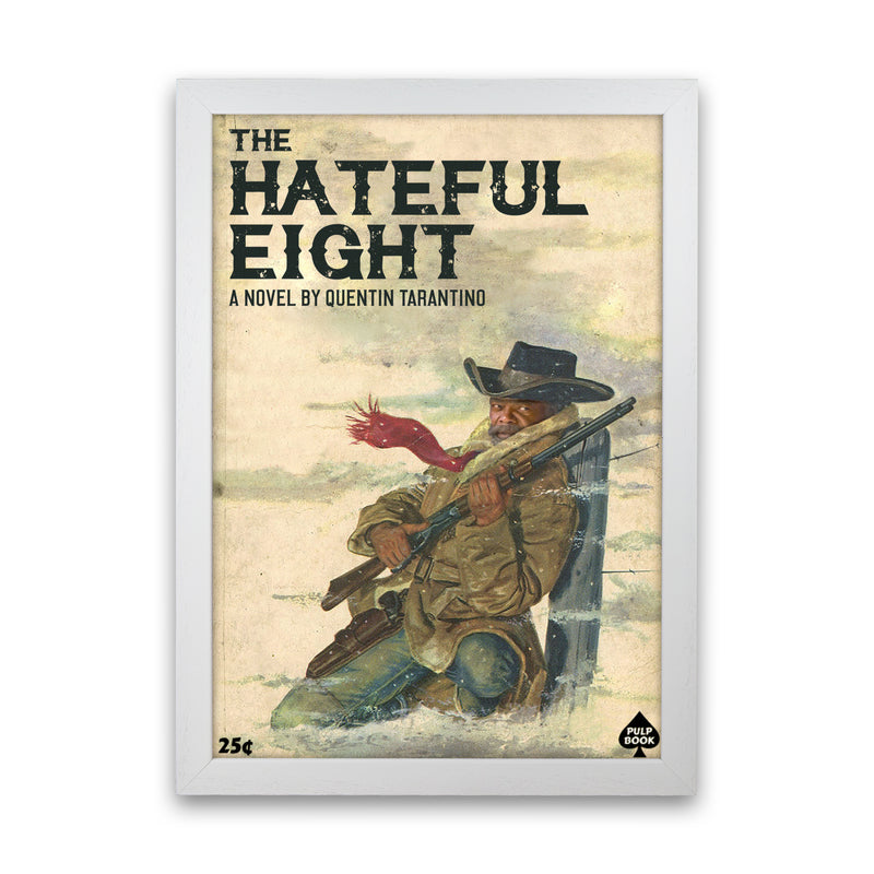 Hateful Eight by David Redon White Frame