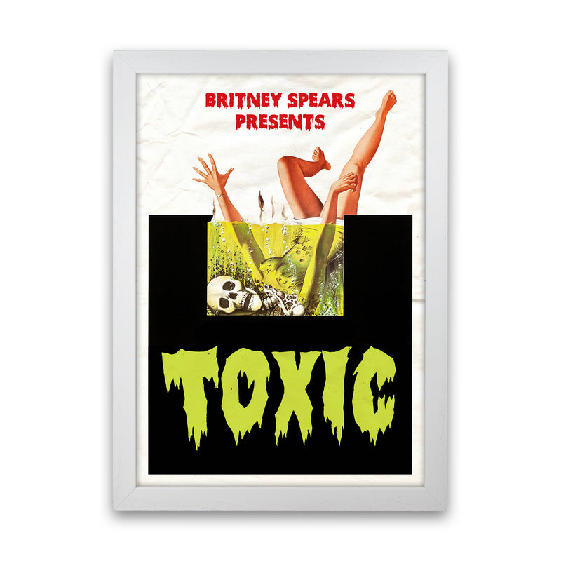 Toxic by David Redon White Frame
