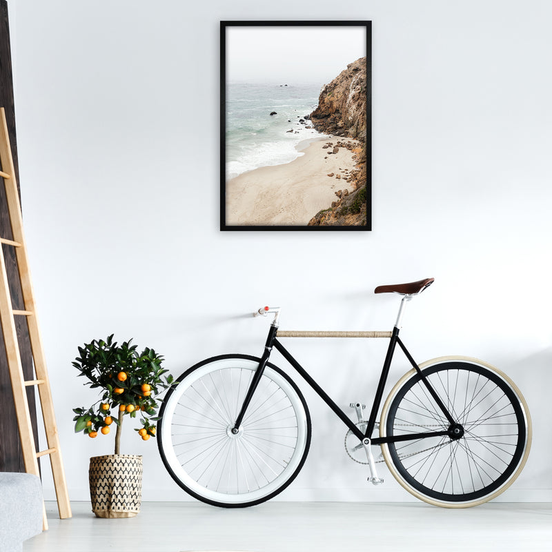 Malibu Dream Photography Art Print by Gal Design A1 White Frame