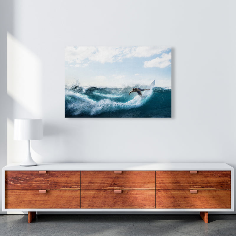 Catch a Wave 2 Photography Art Print by Gal Design A1 Canvas