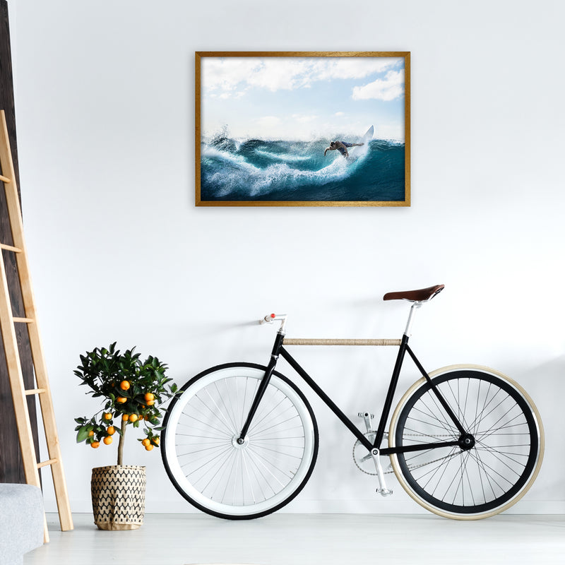 Catch a Wave 2 Photography Art Print by Gal Design A1 Print Only