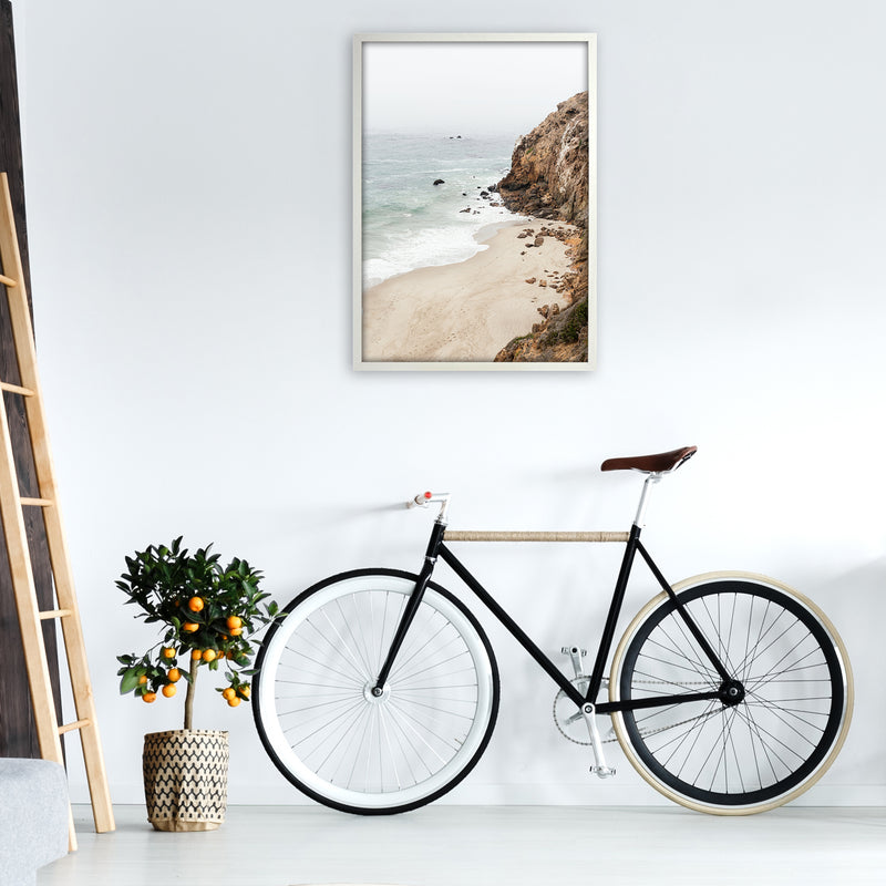 Malibu Dream Photography Art Print by Gal Design A1 Oak Frame