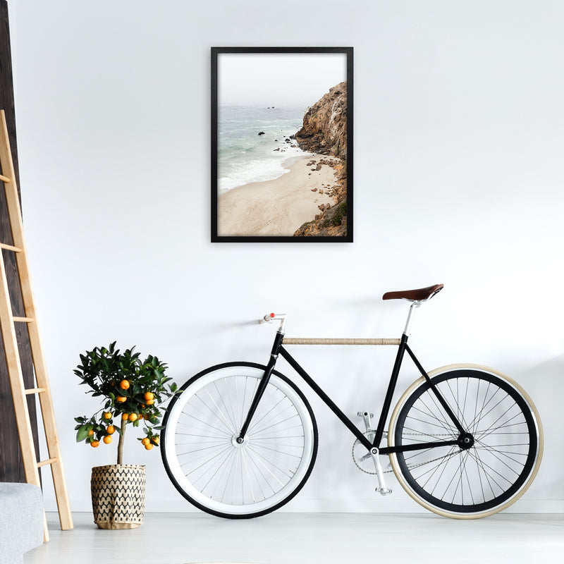 Malibu Dream Photography Art Print by Gal Design A2 White Frame