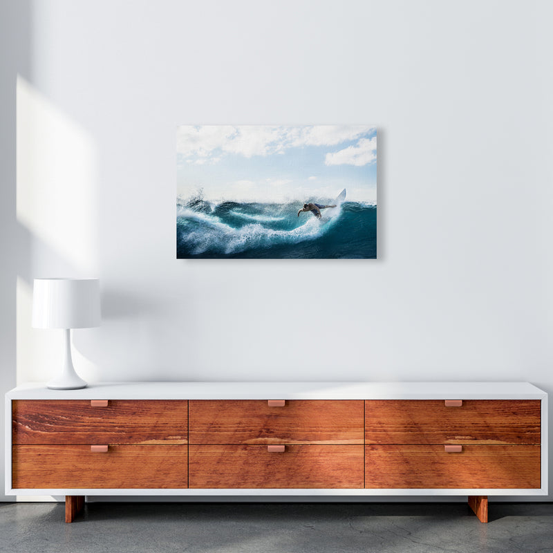 Catch a Wave 2 Photography Art Print by Gal Design A2 Canvas
