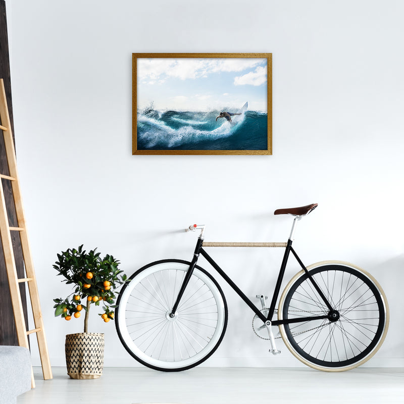 Catch a Wave 2 Photography Art Print by Gal Design A2 Print Only