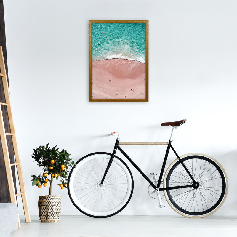 Pink Vacation Photography Art Print by Gal Design A2 Print Only