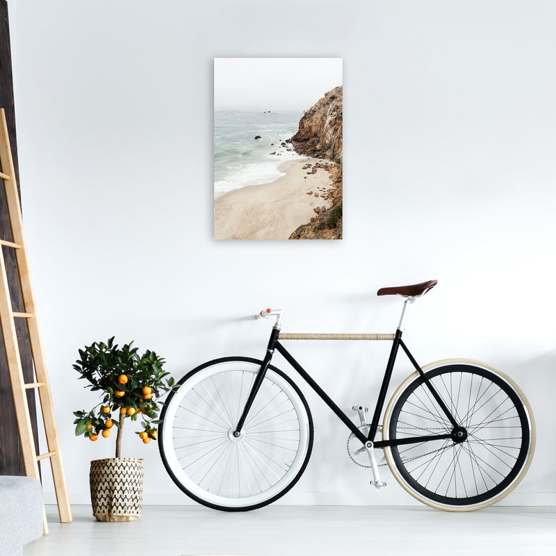 Malibu Dream Photography Art Print by Gal Design A2 Black Frame