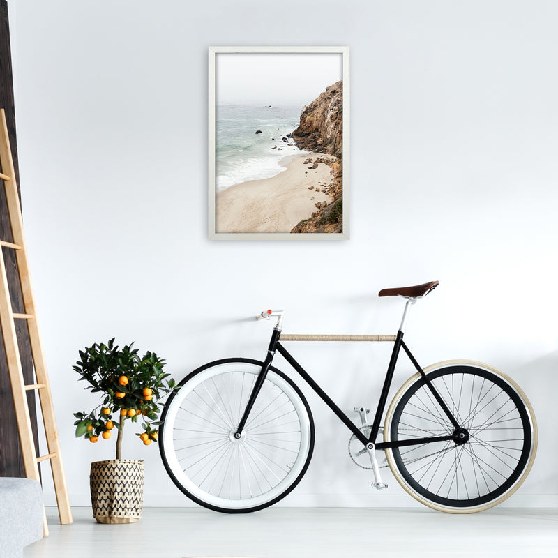 Malibu Dream Photography Art Print by Gal Design A2 Oak Frame