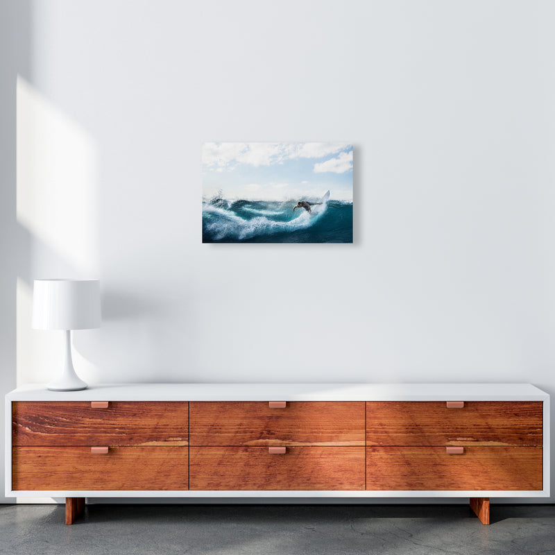 Catch a Wave 2 Photography Art Print by Gal Design A3 Canvas