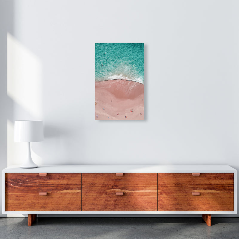 Pink Vacation Photography Art Print by Gal Design A3 Canvas